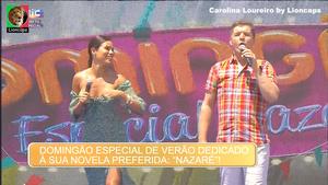 Carolina Loureiro sensual na novela Nazaré e nas festas de Verão da Sic
