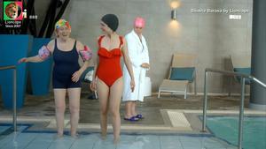 Beatriz Barosa sensual na serie Festa é festa