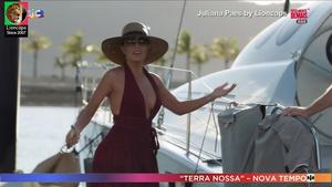 Juliana Paes sensual na novela Totalmente Demais