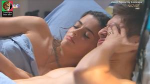 Joana Aguiar sensual na novela Nazare
