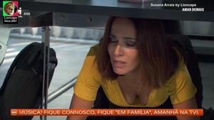 Susana Arrais sensual na novela Amar Demais