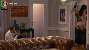 Debora Monteiro sensual na serie Os nossos dias