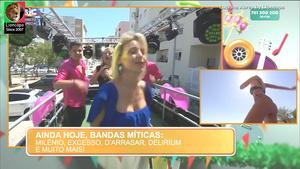 Luciana Abreu sensual na Sic