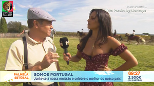 Rita Pereira sensual no somos Portugal