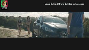 Laura Dutra e Bruna Quintas sensuais no filme A impossibilidade de estar só