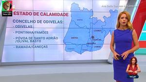 Ana Sofia Cardoso sensual na Tvi24