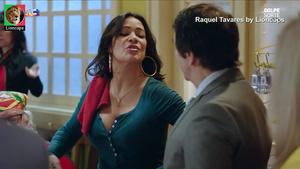 Raquel Tavares sensual na noela Golpe Sorte