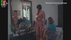 Moniqiue Evans nua no filme Eu