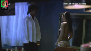 Mel Lisboa nua no filme Sonhos e Desejos