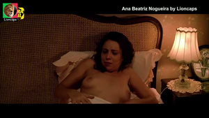 Ana Beatriz Nogueira nua no filme Villa Lobos