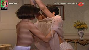 Patricia Tavares e Fatima Belo nuas na serie Balet Rose