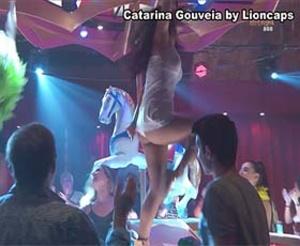 Catarina Gouveia super sensual na novela Terra Brava