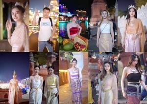 ME13KY4I t - Thai Cute Girl Tiktok Traditional Clothes / by TubeTikTok.Live