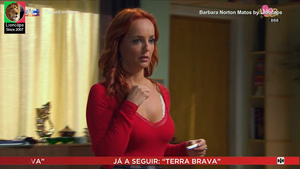 Barbara Norton Matos sensual nas novelas Amor amor e Nazare