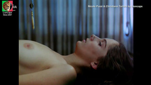 Nicole Puzzi e Christiane Torloni nuas no filme Ariela