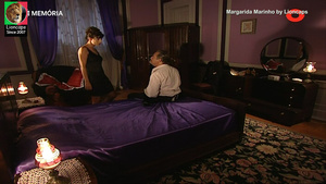 Margarida Marinha sensual na serie Balet Rose