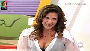 Scheila Carvalho sensual na Escolinha do Gugu