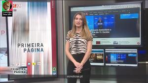 Nelma Serpa Pinto sensual na Sic Noticias