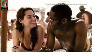 Fernanda Machado e Maria Luisa Mendonça sensuais no filme Amanhã nunca mais