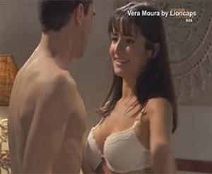 Vera Moura sensual na novela Terra Brava