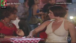 Leticia Spiller sensual nas novelas 4 por 4 e Sabor da paixão