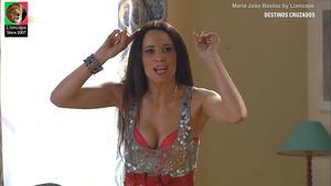 Maria João Bastos sensual na novela Destinos Cruzados