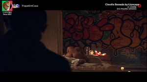 Claudia Semedo nua no filme O Crime do Padre Amaro