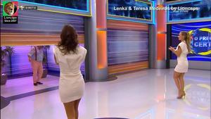 Lenka & Teresa Medeiros sensuais no Preço Certo