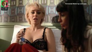 Fernanda Nobre sensual na serie Copa Hotel