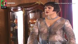 Filomena Gonçalves sensual na serie Alves dos Reis