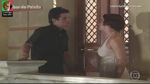 Leticia Spiller sensual nas novelas Sabor da paixão
