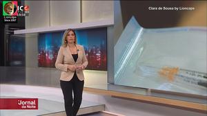 Clara de Sousa sensual na Sic