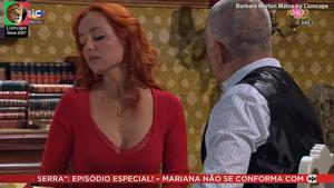 Barbara Norton Matos sensual na novela Amor amor