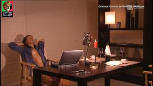 Cristina Homem de Mello nua na serie de 2002 O Crime