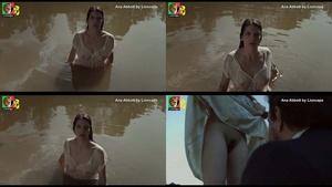 Ana Abbott nua no filmee O Espelho