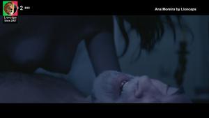 Ana Moreira nua na miniserie Amantes na Fronteira