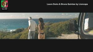 Laura Dutra sensual no filme Impossibilidade de estar só