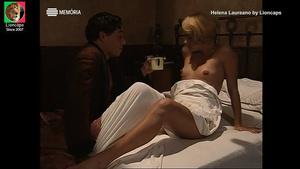 Helena Laureano nua na serie Alves dos Reis