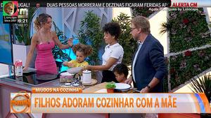 Agata Rodrigues sensual na Cmtv