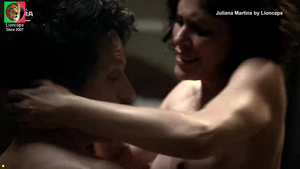Juliana Martins nua na serie Copa hotel