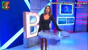 Mafalda Castro sensual a apresentar os diarios do BB2020