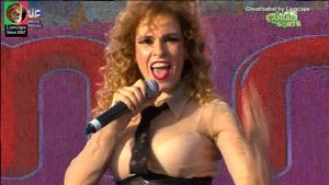 Claudisabel sensual a cantar