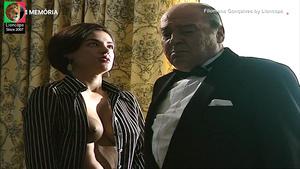 Filomena Gonçalves nua na serie Balet Rose