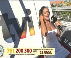 Rita Pereira super sensual no Somos Portugal