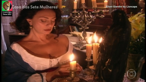 Eliani Giardini nua na serie A casa das 7 mulheres
