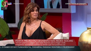 Liliana Campos sensual no Passadeira Vermelha