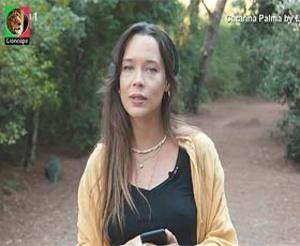 Catarina Palma a sensual reporter do programa Faz Faisca
