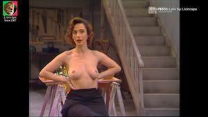Maria João Luís nua na serie de 1990 Um amor Feliz