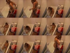 ME13IAP5 t - Hidden Cam Caught Girl Taking A Bath