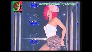 Daniela Pimenta sensual no programa A tua cara não me é estranha